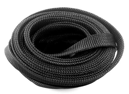 PET polyester expandable braided sleeving show