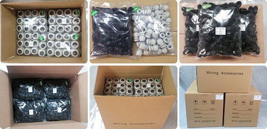 waterproof cable gland general package