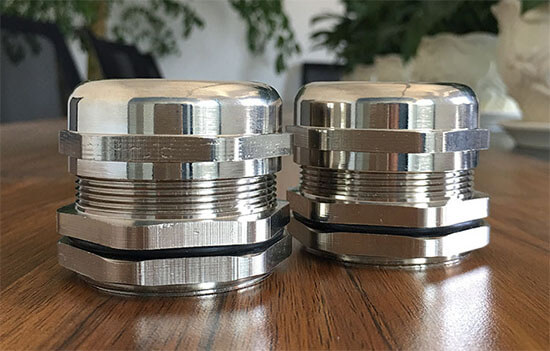 nickel plated brass cable gland show