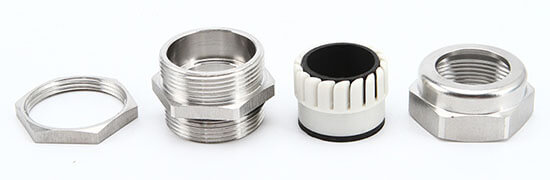 stainless steel cable gland structure