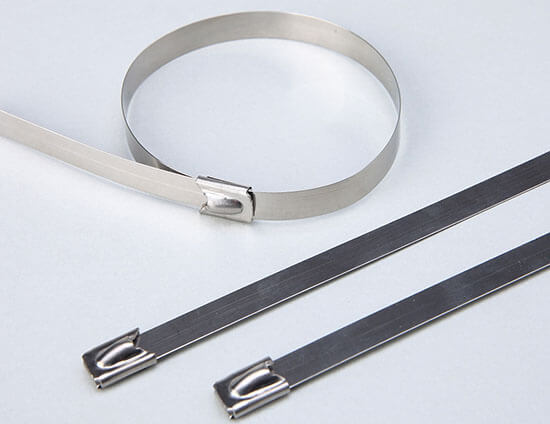 stainless steel cable ties show