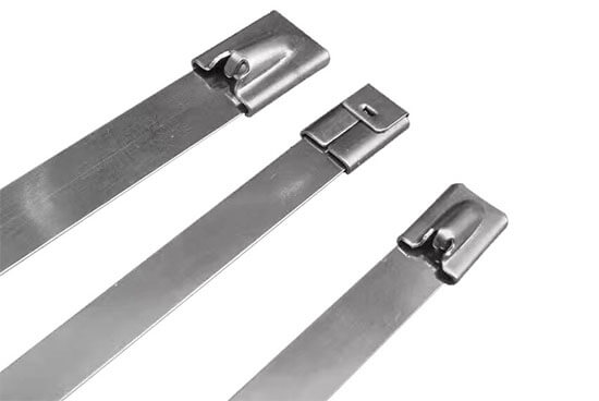 stainless steel cable ties details