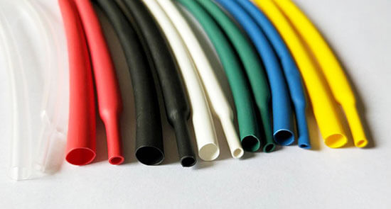 dual wall heat shrink tubing and shrinked dual wall heat shrink tubing