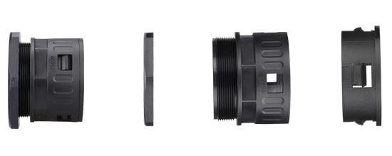 plastic conduit quick connector