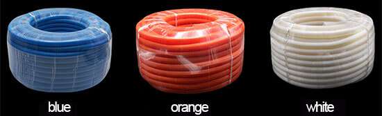 flexible PVC electrical conduit package