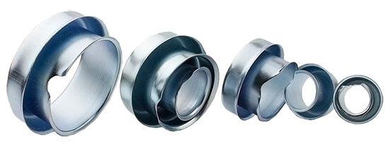 galvanized steel flexible conduit end caps