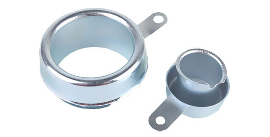 galvanized steel ground flexible conduit end caps