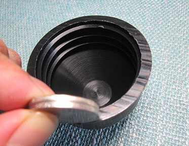 plastic conduit end caps details show