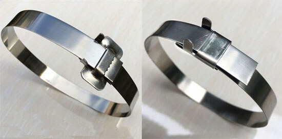 stainless steel banding with seals