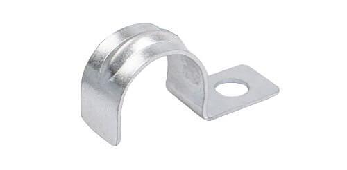 1 hole conduit straps show