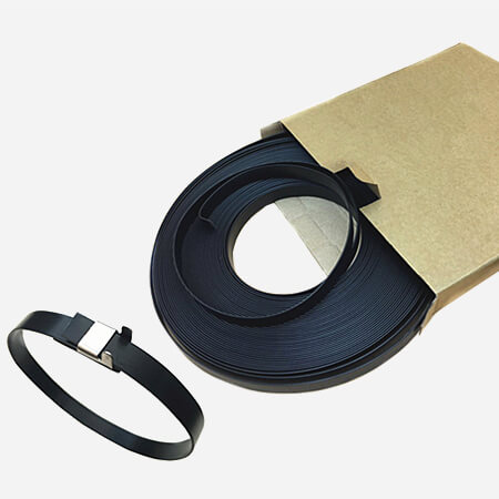PVC Coated Stainless Steel Banding Strapping Wholesale